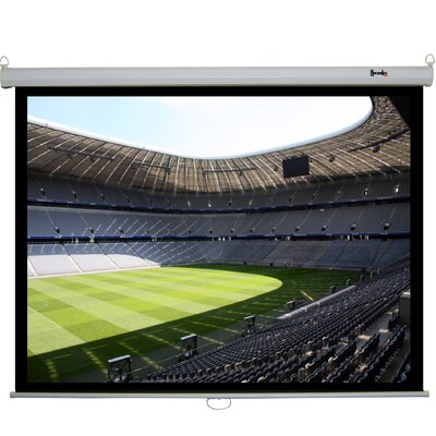 Clarity Matte White Electric Prjection Screen Viewing Area: 84 diagonal