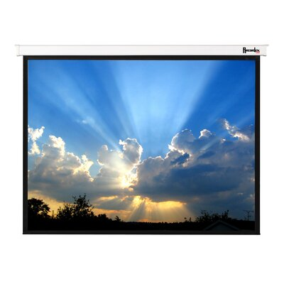 Magnifica Matte White 106 diagonal Electric Projection Screen