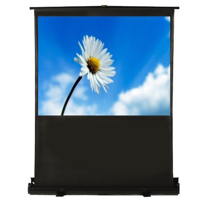 Matte White Portable Projection Screen Viewing Area: 36 H x 64 W