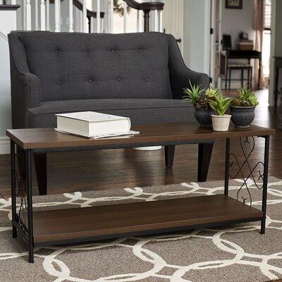 Brundrett Coffee Table with Storage Shelf