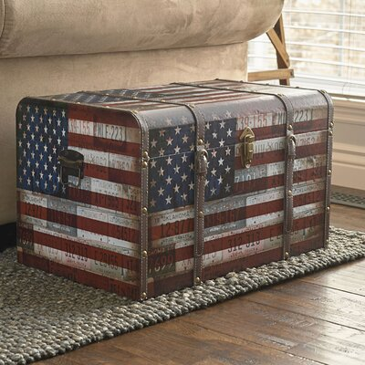 Sumner Americana Decorative Home Storage Trunk