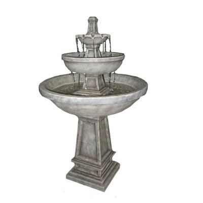 Rhodes Three Tier Electric Fountain with LEDs