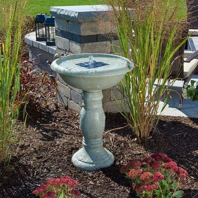 Solar Country Gardens Solar Birdbath 20622R01