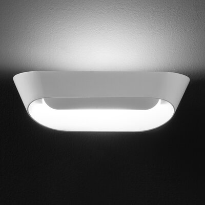 JK 1-Light Wall Sconce Base Color: White