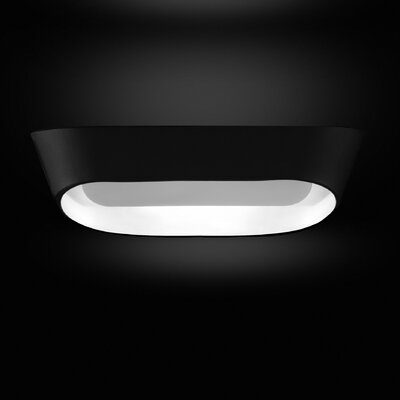 JK 1-Light Wall Sconce Base Color: Matte Black