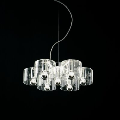 Fiore 7-Light Shaded Chandelier