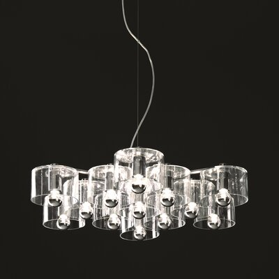 Fiore 13-Light Shaded Chandelier