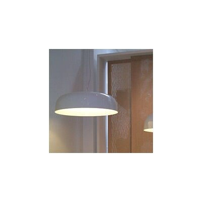 Canopy 1-Light Bowl Pendant Finish: White / White