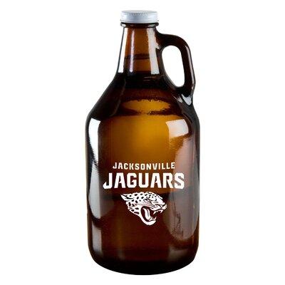 NFL Amber 64 Oz. Growler NFL Team: Jacksonville Jaguars