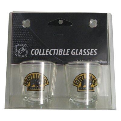 NHL Shot Glass Cup NHL Team: Boston Bruins BOHKYBOSSH
