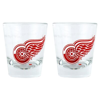 NHL Shot Glass Cup NHL Team: Detroit Red Wings BOHKYDETSH