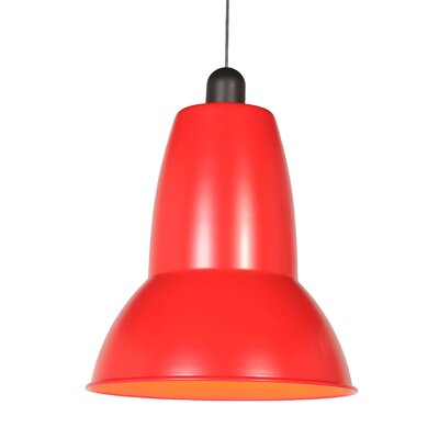 Giant 1227 Pendant Shade Color: Signal Red