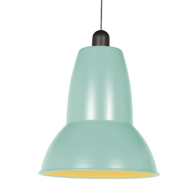 Giant 1227 Pendant Shade Color: Duck Egg Blue