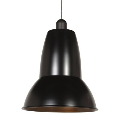 Giant 1227 Pendant Shade Color: Jet Black