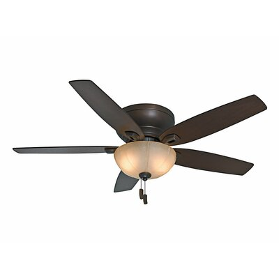 54 Durant 5-Blade Ceiling Fan Finish: Maiden Bronze with Walnut/Smoked Walnut Blade