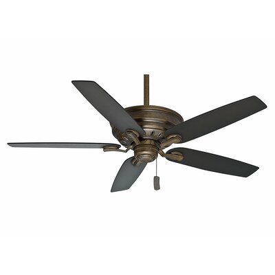 60 Adelaide 5-Blade Ceiling Fan - Motor Only Motor Finish: Aged Bronze