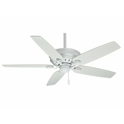 60 Adelaide 5-Blade Ceiling Fan - Motor Only Motor Finish: Snow White