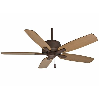 60 Areto 5-Blade Ceiling Fan - Motor Only Motor Finish: Industrial Rust