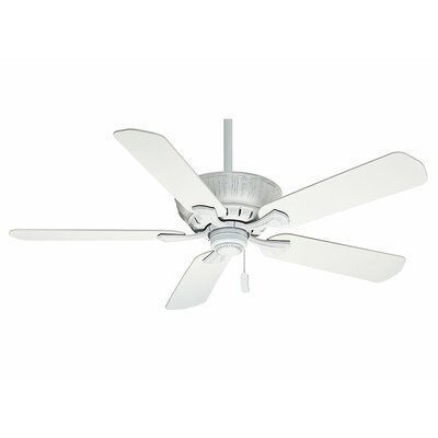 60 Coletti 5 Blade Ceiling Fan - Motor Only Motor Finish: Cottage White