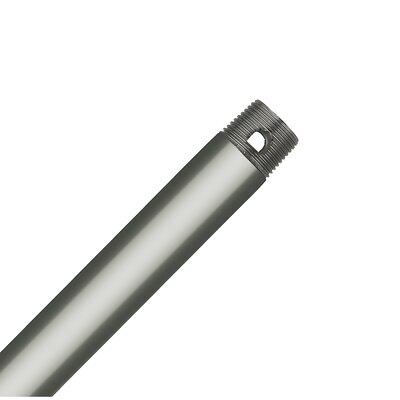 Downrod Size: 60 H x 0.75 W x 0.75 D, Finish: Satin Nickel