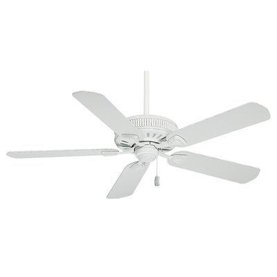 54 Ainsworth 5-Blade Ceiling Fan Finish: Cottage White
