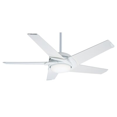 54 Stealth DC 5 Blade LED Ceiling Fan with Remote