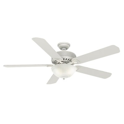60 Ainsworth Gallery 5-Blade Ceiling Fan Finish: Cottage White