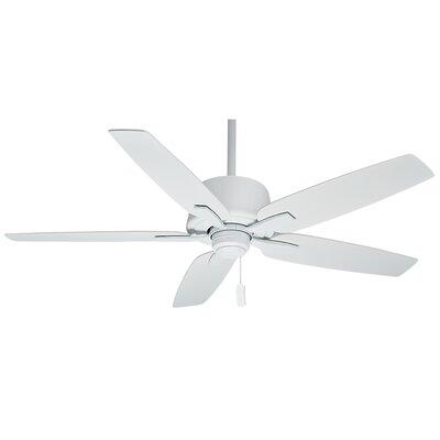 60 Areto 5-Blade Ceiling Fan - Motor Only Motor Finish: Snow White