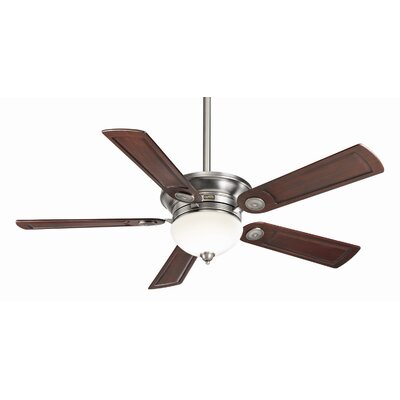 54 Whitman 5-Blade Ceiling Fan Finish: Antique Pewter with Rosewood Blades