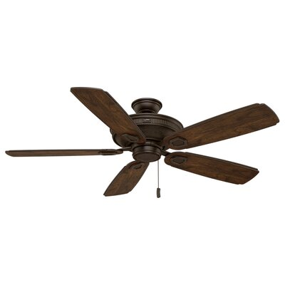 60 Heritage 5-Blade Ceiling Fan Motor Finish: Brushed Cocoa