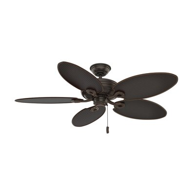 54 Charthouse Onyx Bengal 5 Blade Outdoor Ceiling Fan