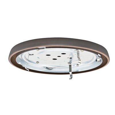 Compact Fluorescent Low Profile Light Fitter Finish: Brushed Cocoa