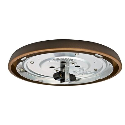 Incandescent Low Profile Light Fitter Finish: Maiden Bronze