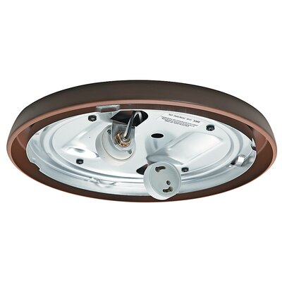 Compact Fluorescent Low Profile Light Fitter Finish: Maiden Bronze