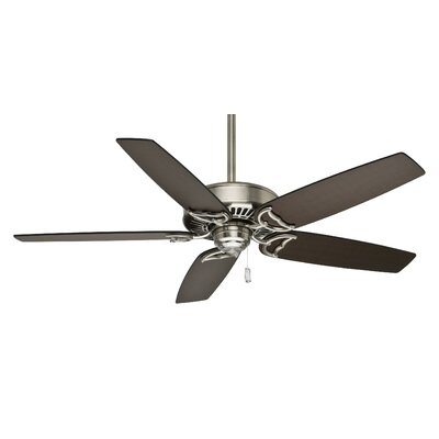 Panama Ceiling Fan Motor Finish: Brushed Nickel
