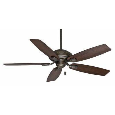 52 Utopian 5-Blade Ceiling Fan Finish: Aged Bronze with Black Mahogany Blades