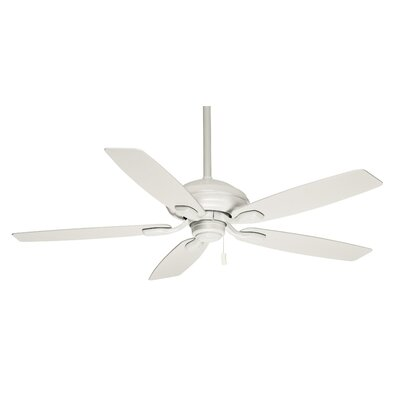 52 Utopian 5-Blade Ceiling Fan Finish: Snow White with Matte Snow White Blades
