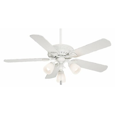 54 Ainsworth Gallery 5-Blade Ceiling Fan Finish: Cottage White