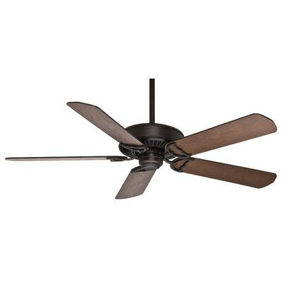 48 Panama 5 Outdoor Ceiling Fan Finish: Brushed Cocoa