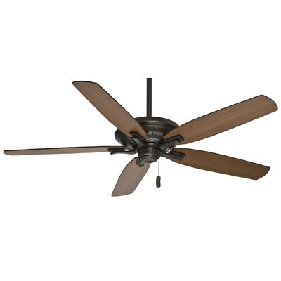 60 Brescia 5-Blade Ceiling Fan - Motor Only Motor Finish: Brushed Cocoa
