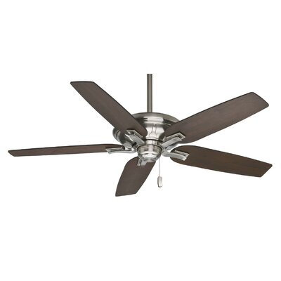 60 Brescia 5-Blade Ceiling Fan - Motor Only Motor Finish: Brushed Nickel