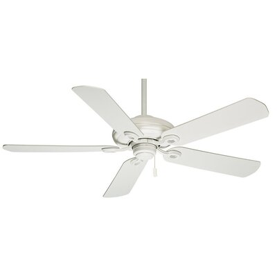 60 Capistrano 5-Blade Ceiling Fan - Motor Only Motor Finish: Snow White