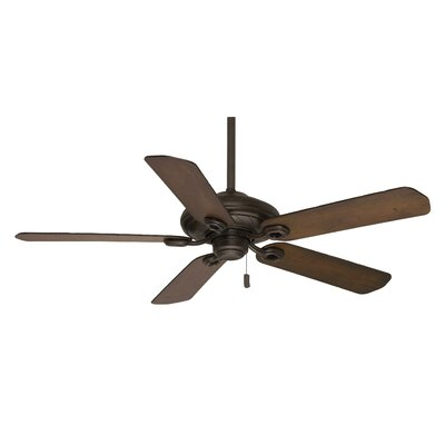 54 Capistrano 5 Blades Outdoor Damp Ceiling Fan with Handheld Remote