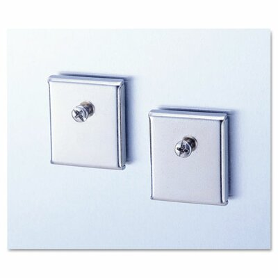 Cubicle Accessory Mounting Magnets (2 Pack) (Set of 3)