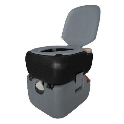 Portable 3 GPF Round One-Piece Toilet