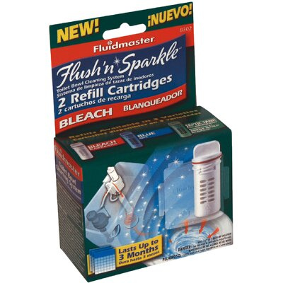 Flush N Sparkle Bleach Replacement Cartridge