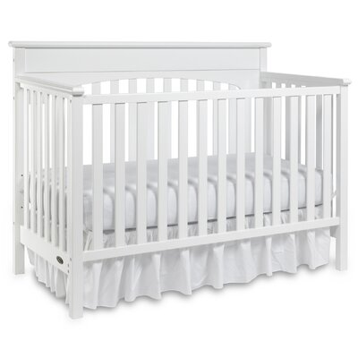 Lauren Convertible Crib Finish: White 04530-361