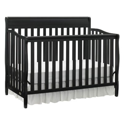Stanton Convertible Crib Finish: Black 04530-66B