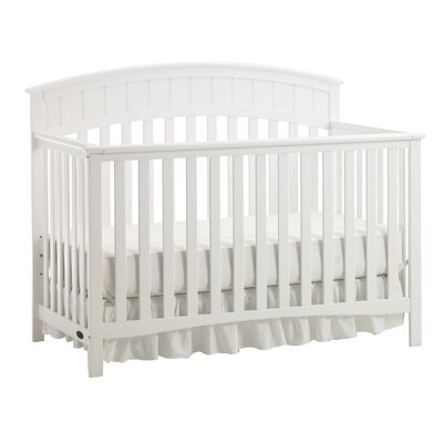 Charleston Convertible Crib Finish: White 04540-531