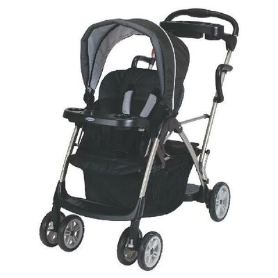 e7bafa2fda1 Graco RoomFor2 Stand and Ride Stroller - Metropolis Black Multi